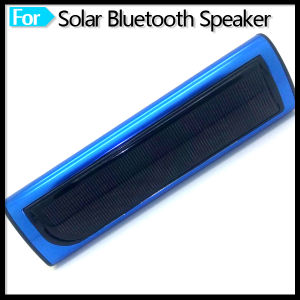 2015 New Product Outdoor Portable Bluetooth Speaker with Solar Panel Charge pictures & photos