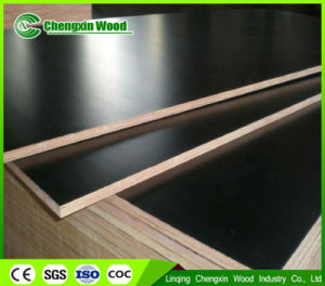 Two Times Finished Black Film Faced Marine Plywood for Construction pictures & photos