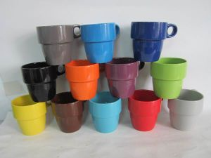 Porcelain Solid Color Coffee Mugs (TM612053) pictures & photos