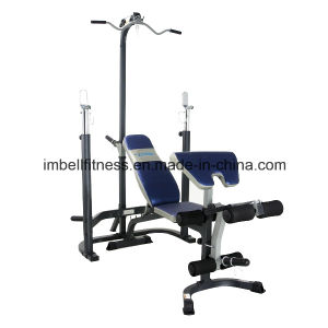 Multi Gym Equipment/Olympic Bench with Squat & Lat Weight Bench/Fitness Equipment