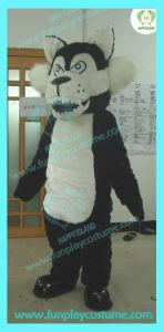 Hi En71 Black Wolf Mascot Costume