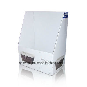 Cardboard Display Bins Corrugated Floor Display Dump Bins pictures & photos