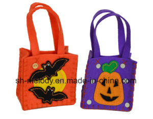 Cute DIY Decoration/DIY Felt Candy Bag/ Halloween Decoration pictures & photos