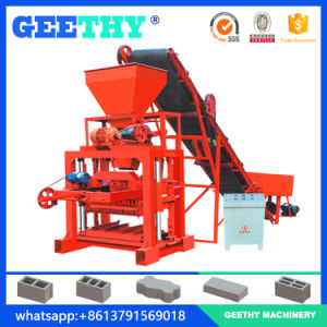 Qtj4-35b2 Block Making Machine in Kenya pictures & photos