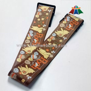 Sublimation Printing (with animal pattern) Polyester Luggage Belt Strap pictures & photos