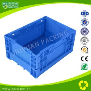 Plastic Collapsible Folding Crates Without Lids for Supermarket pictures & photos