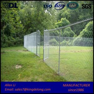 Easy Installation Beautiful Garden Chain Link Fence pictures & photos