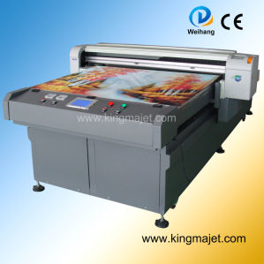 Mj1225 4-Color Digital Inkjet Wood Printer