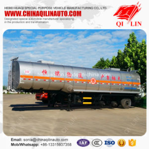 Curb Weight 10t Carbon Steel Chemical Liquids Tank Semi Trailer pictures & photos