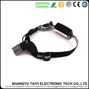 10W CREE LED IP33 Cool White Rechargeable Camping Headlamp pictures & photos