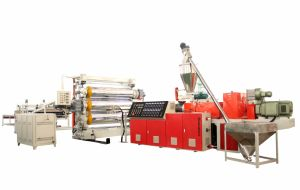PVC Extrusion Sheet Production Line pictures & photos