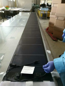 144W Membrane Thin Film Flexible Solar Panel for Commercial Roof Top (PVL-144) pictures & photos