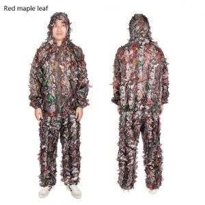 Camouflage Ghillie, Military Ghillie, Army Lightweight Leaf Ghillie Suit Cl34-0074 pictures & photos