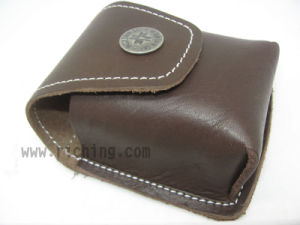 PU or Genuine Leather Pouch for Compass #P-T4580 pictures & photos
