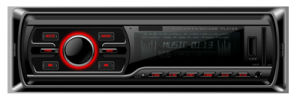 One DIN Car DVD Player with USB SD Slort FM Radio pictures & photos