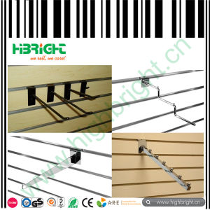 Zinc Plated and Chromed Display Slatwall Hooks for Shops pictures & photos