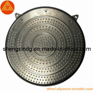 Stamping Wheel Alignment Turntable Cover with Color Zinc Plating (SX219) pictures & photos