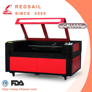 Two Laser Heads Laser Cutting and Engraving Machine with Red DOT From Redsail (CM1690)