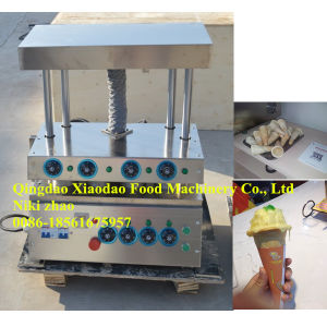 Pizza Cone Forming Machine/Pizza Cone Bakery Machine pictures & photos