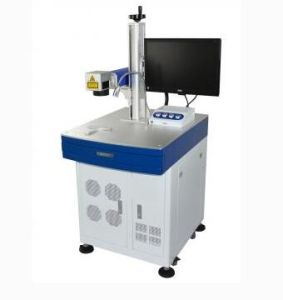 20W 50W 100W Fiber Optical Laser Marking Machine for Steel pictures & photos