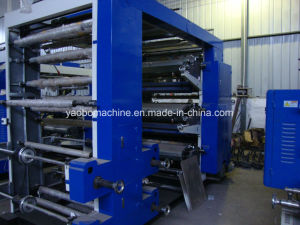 Yb-6600 Flexographic Printing Machinery for Plastic Film pictures & photos