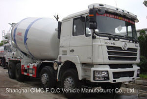 Shacman F3000 Euro III with Weichai Engine Concrete Mixer Truck