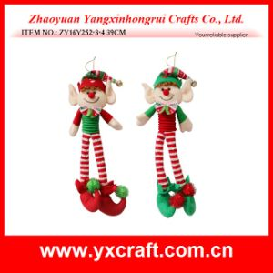 Christmas Decoration (ZY16Y252-3-4 39CM) Christmas Dancing Elf Noel Decoration pictures & photos