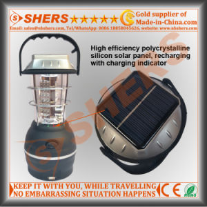 48 LED Solar Camping Lantern 1W LED Flashlight USB Outlet pictures & photos
