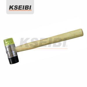 Kseibi Two Way Soft Head Plastic Hammer with Wooden Handle pictures & photos