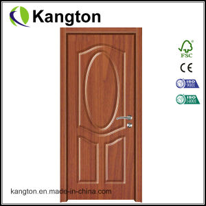 Wood Grain PVC Film Door Decorate (PVC film door) pictures & photos