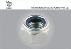 DIN985 DIN982 Nylon Hex Nut Lock Nut pictures & photos