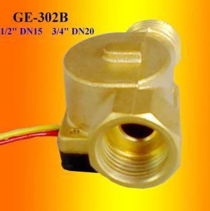 Brass Water Flow Sensor 3% Accuracy (GE-302)
