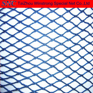 Black / Blue/Red 25mmstr Nylon/Polyester Raschel Knotless Net
