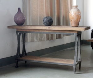 Recycle Elm Furniture /Console Table / Oak Furniture (AF-114) pictures & photos
