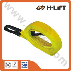 10, 000lbs Tow Strap / Winch Strap / Cargo Lashing with Loops (TSEE) pictures & photos
