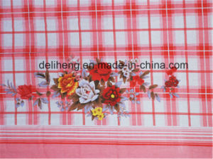 Old Fashion Cheap Price T/C 50/50 Flower Printed Bed Sheet pictures & photos