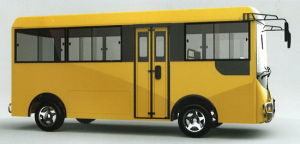 China, City, Small, Mini, Passenger, Shuttle, Electrical School Bus pictures & photos