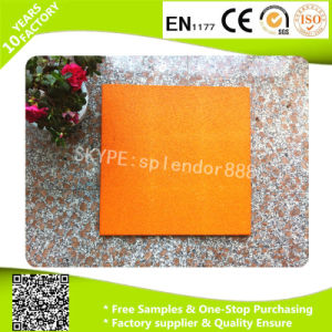 Dog Bone Colorful Non-Toxic Playground Rubber Matting pictures & photos