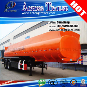 3 Axle 40000 Liters Fuel/Oil Tanker Semi Trailer for Sale pictures & photos