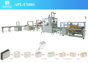 2015 Brother Apl-Css01 Automatic Carton Packing Line pictures & photos