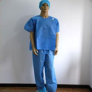 Disposable Scrub Suit as Pyjamas pictures & photos