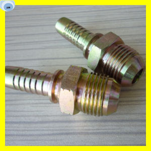 Jic Bsp NPT Standard Male Fitting Male Cone Fitting pictures & photos