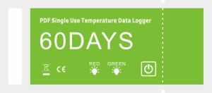 Pdf Single Use Temperature Data Logger 60days pictures & photos