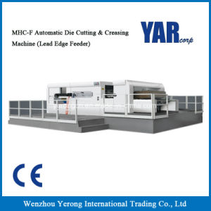 Mhc-FC Series Automatic Die Cutting & Creasing Machine with Stripping pictures & photos