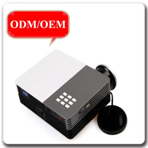 Ultra Portable 600 Lumen Full HD Home Theater Digital LCD 3D LED Projector pictures & photos