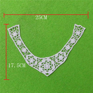 Cotton Collar with Netting Yoke (cn92) pictures & photos