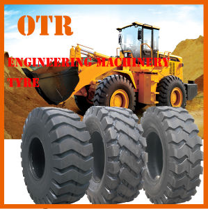 Engineering Machinery Tyre, E-3/L-3 Tyre, Bias OTR Tyre pictures & photos