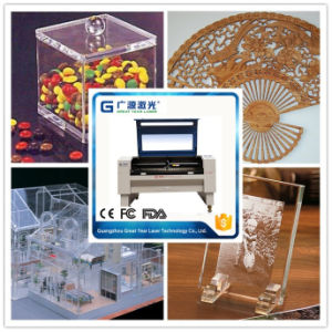 Guangzhou Low Price Laser Cutter for Acrylic MDF Board pictures & photos