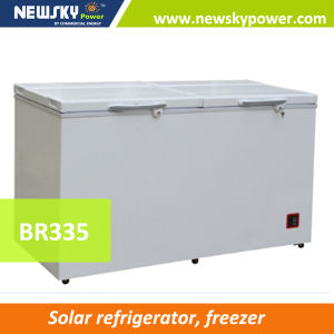 12V DC Solar Single Door Chest Freezer Solar Deep Freezer pictures & photos