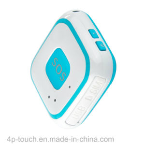 Large Sos Button Mini GPS Tracker with Fall Down Alarm Function pictures & photos